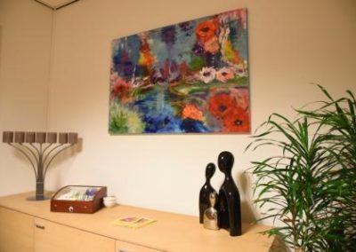 Creatieve ruimte schilderij